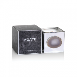 Agate Aphotocary Silver Guild Candle - Black Dahlia