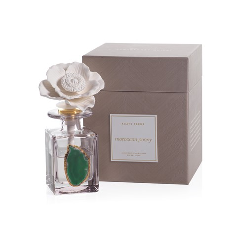 Moroccan Peony Agate Flower Diffuser